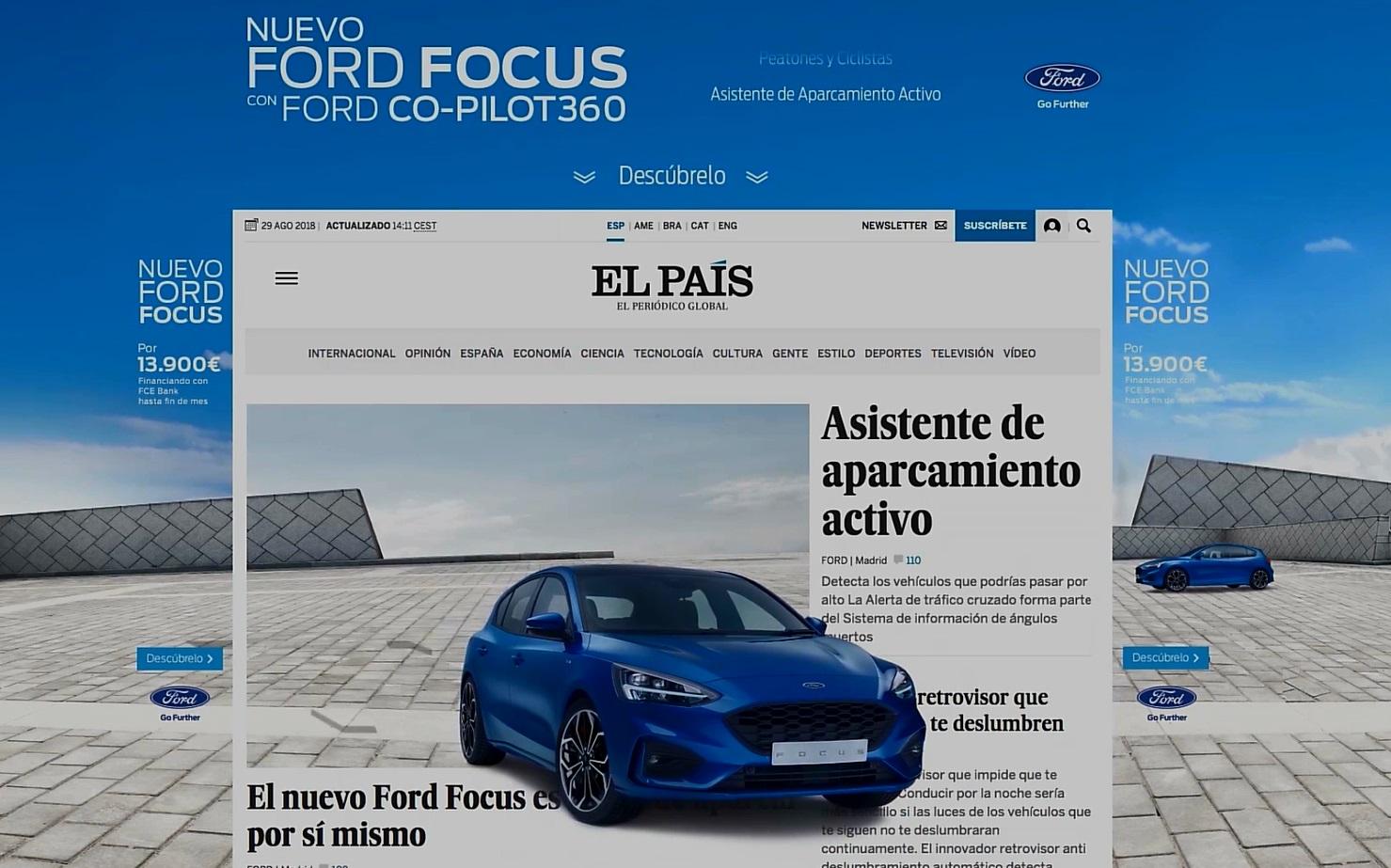 Cómo consiguió Ford disparar las peticiones de prueba del nuevo Focus