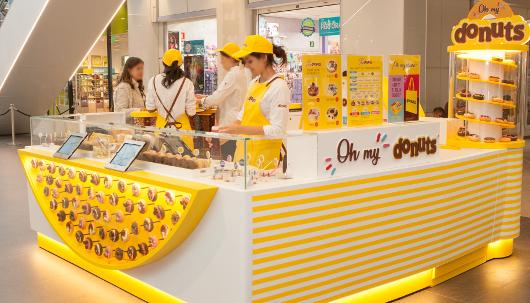 Donuts abre su primera tienda efímera
