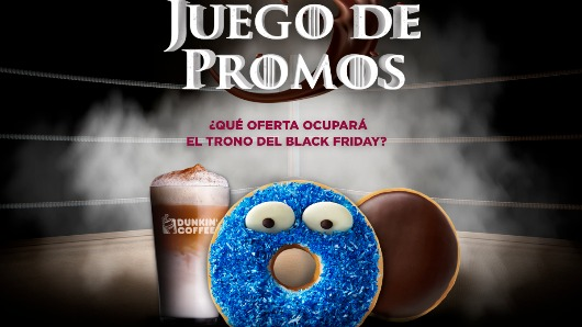 Dunkin' Coffee se une al Black Friday con un original 'juego de promos' en Instagram