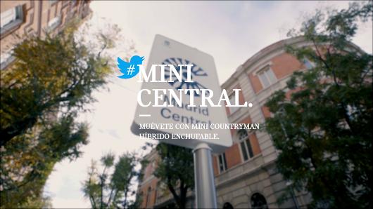 Mini ofrece pruebas de su híbrido enchufable en Madrid Central a través de Twitter