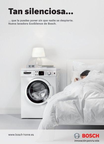 Campaña multimedia para las nuevas lavadoras de Bosch