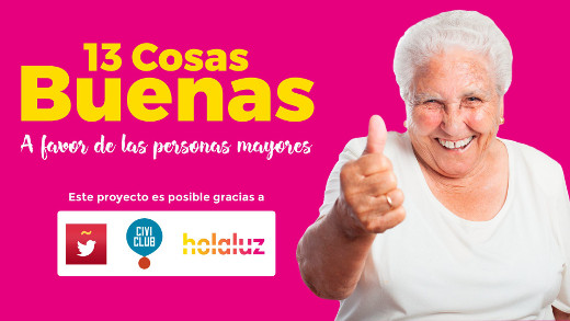 Una acción de marketing convertirá tuits en horas de luz para personas mayores