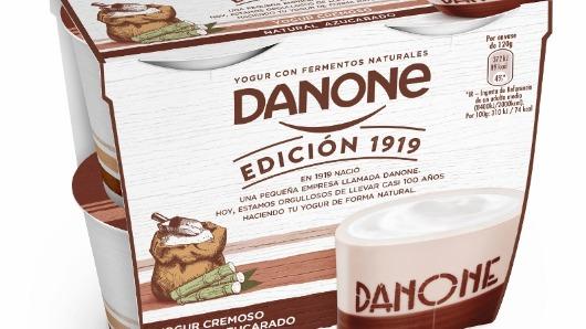 Danone impulsa sus ventas después de su reposicionamiento