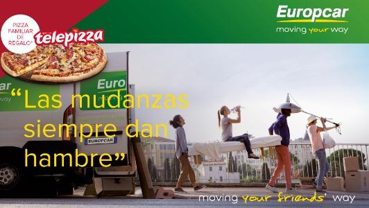 Original promoci n de europcar y telepizza marcas marketingnews - Oficinas europcar madrid ...