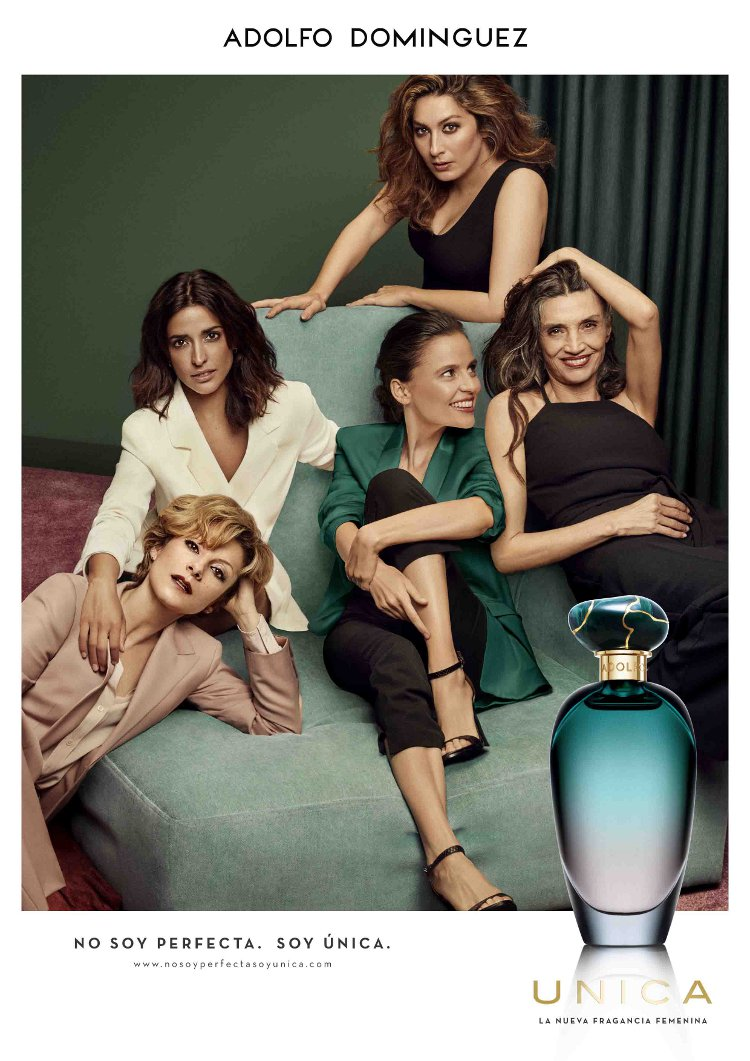 Cuatro actrices y una cantante protagonizan la campa a del for Adolfo dominguez web corporativa