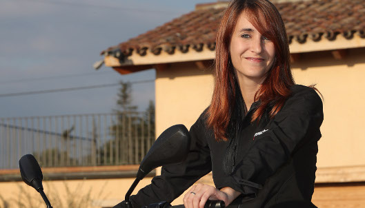 Helena Delisle, directora de marketing y comunicación de Motos Bordoy