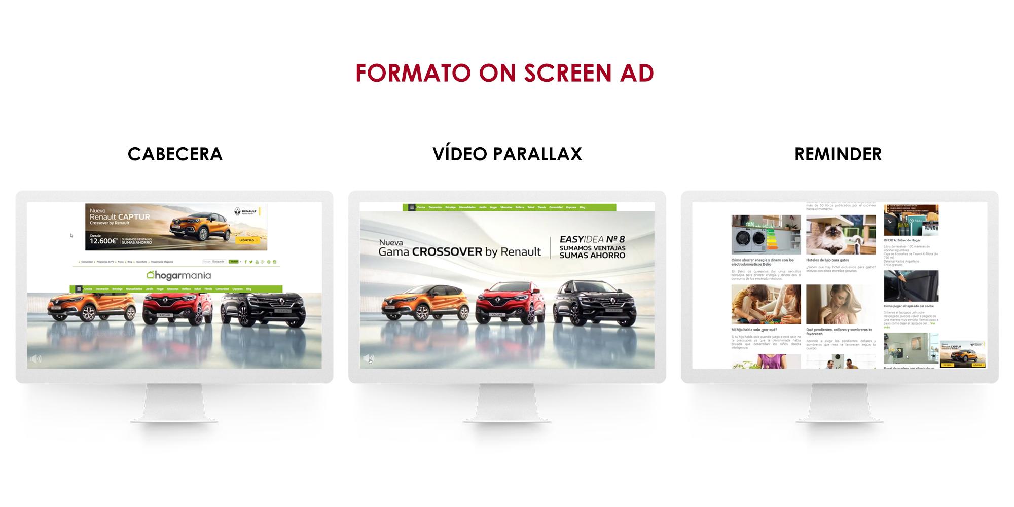 Renault estrena un formato multidispositivo