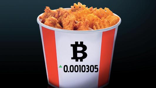 KFC vende en Canadá un menú que solo puede comprarse con 'bitcoins'