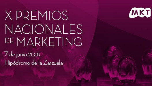La lista corta de los Premios Nacionales de Marketing