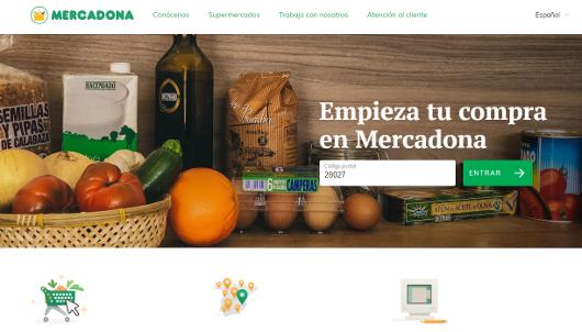 Mercadona lanza (por fin) su nueva web